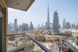 Amazing 2 Bed Apartment with BurjKhalifaView
